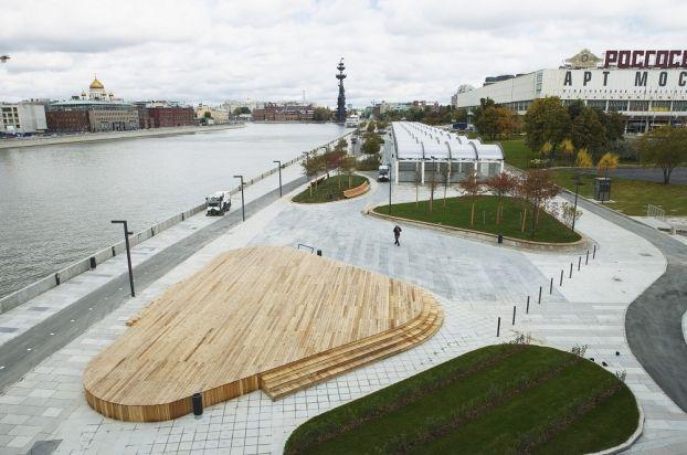 Krymskaya embankment   Moscow   Russia   Landscape 2014   WAN Awards