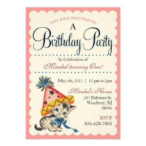 1000+ Ideas About Retro Birthday Parties On Pinterest