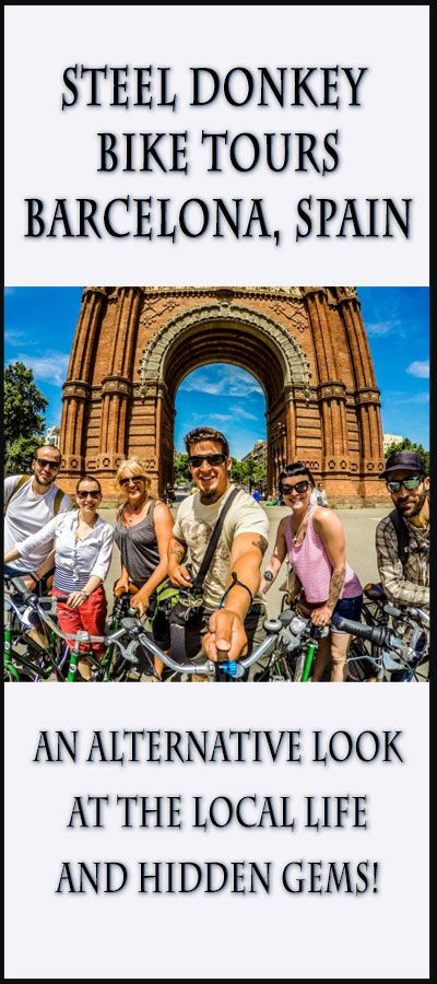 Check out what the Steel Donkey Bike Tour in Barcelona is all about!