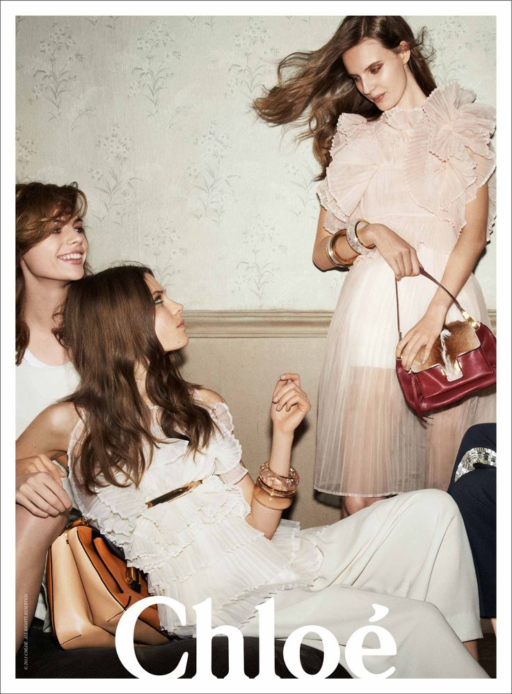 Chloe Spring/Summer 2013 ad campaign.