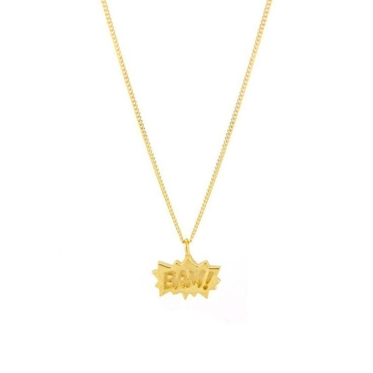 Laura Gravestock Jewellery - Dainty Bam! Necklace - by Laura Gravestock