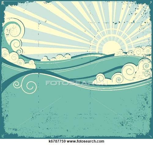 Waves Stock Illustration Images. 141,037 waves illustrations available to search from over 15 royalty free EPS vector clip art graphics image publishers.