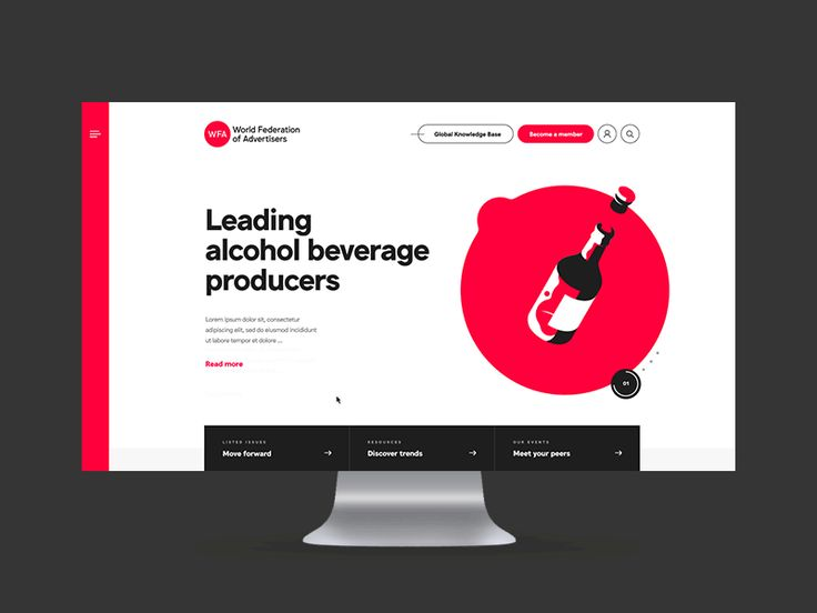 This is the motion design of the homepage from www.wfanet.org we recently wrapped up.  A nice project for a huge organization.