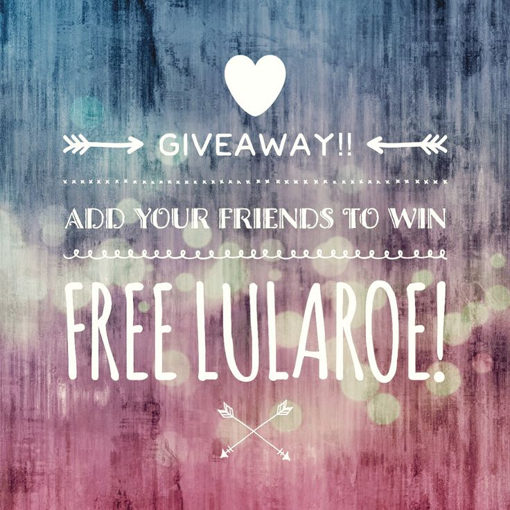 Visit my Lularoe VIP Boutique and join for a chance to win FREE leggings! Www.facebook.com/groups/Lularoejuliemorris