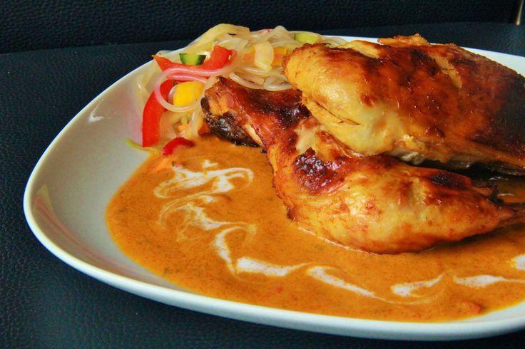 V kuchyni vždy otevřeno ...: Kuře na paprice s kokosovým mlékem