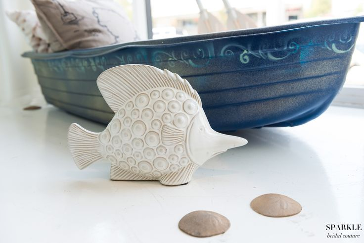 "Sail away on a romantic waterway as your guests say ""bon voyage"" on your wedding day!  #Nauticalwedding #Boats #Weddingdecor #Seashells #Sanddollars #Weddingideas"