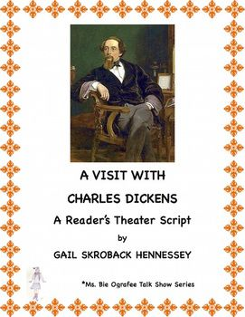 Part of my Ms. Bie Ografee Talk Show Series, students will be introduced to the life of Charles Dickens, one of the most famous writers of all time. There are 11 questioners in the play as well as a Did You Know? section of fun facts, comprehension questions and a teacher page with extension activities, additional links and the key.Other resources on famous writers:1.