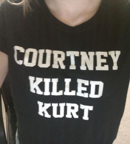 Courtney Love would be nothing if she gave Kurt Cobain the divorce he was in the middle of filing...