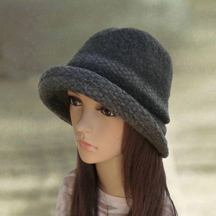 Gray felt hats, Felted ladies hat, Womens felted hat, Trendy women's hat, Cloche hat,  Felted wool hats, Ladies winter hats, Hats felt wool by AccessoryArty on Etsy https://www.etsy.com/listing/269165536/gray-felt-hats-felted-ladies-hat-womens