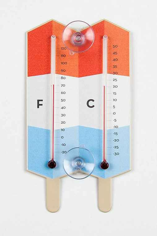 POPSICLE WINDOW THERMOMETER