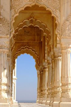 Mediterranean scallop arches