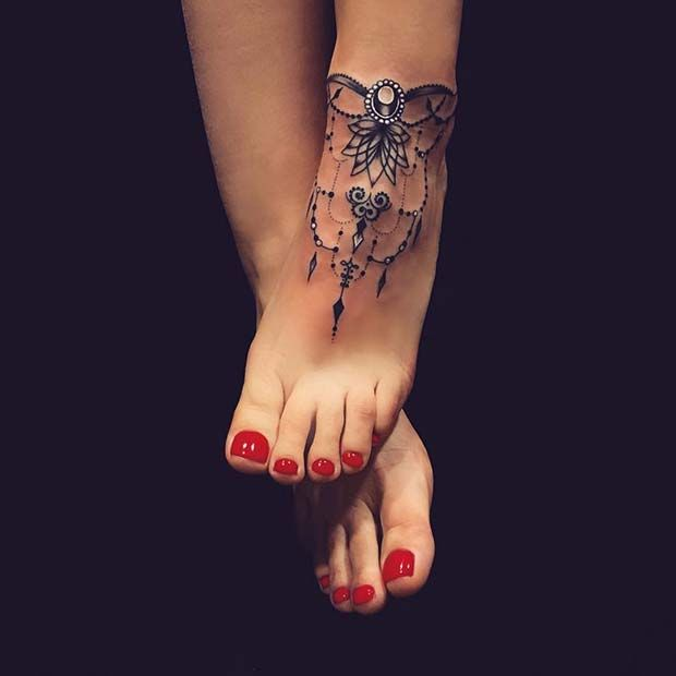 45 Awesome Foot Tattoos For Women Page 2 Of 4 Stayglam Foot Tattoos For Women Foot Tattoos Foot Tattoos Girls