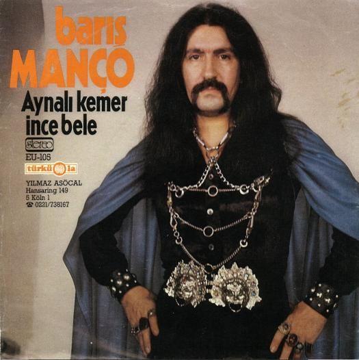 The KING of Turkish funk-jam-disco (and moustache-hairdo combos) Baris Manco!
