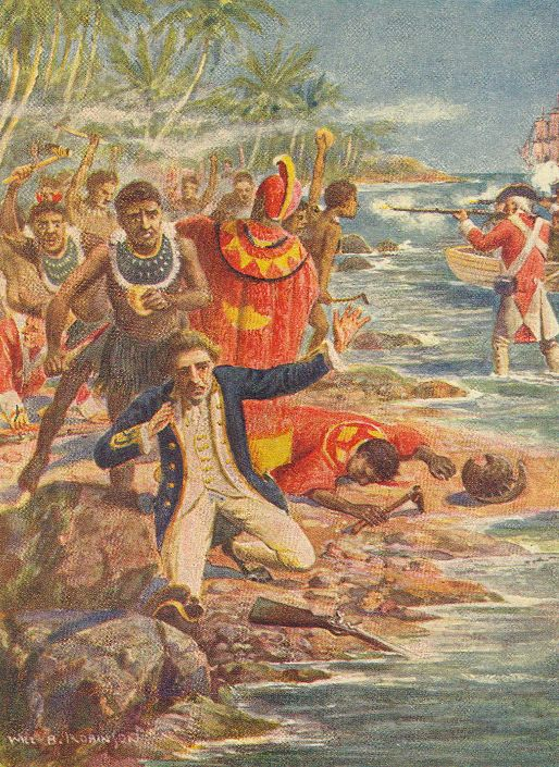 Death of Captain James Cook (Hawaii)