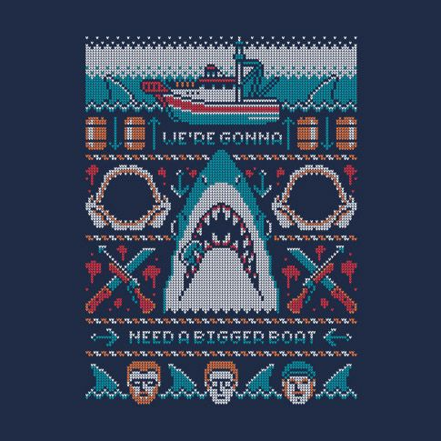 Jaws We're Gonna Need A Bigger Bow T-Shirt
