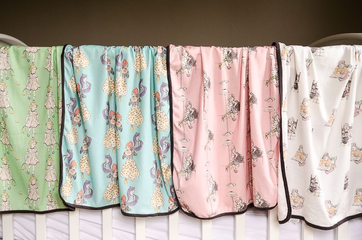Our 1930s inspired baby blankets.  Love this colour combination. www.eefandini.co.nz