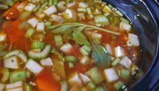 Soupe aux légumes (mijoteuse) #recettesduqc #soupe #legume #mijoteuse