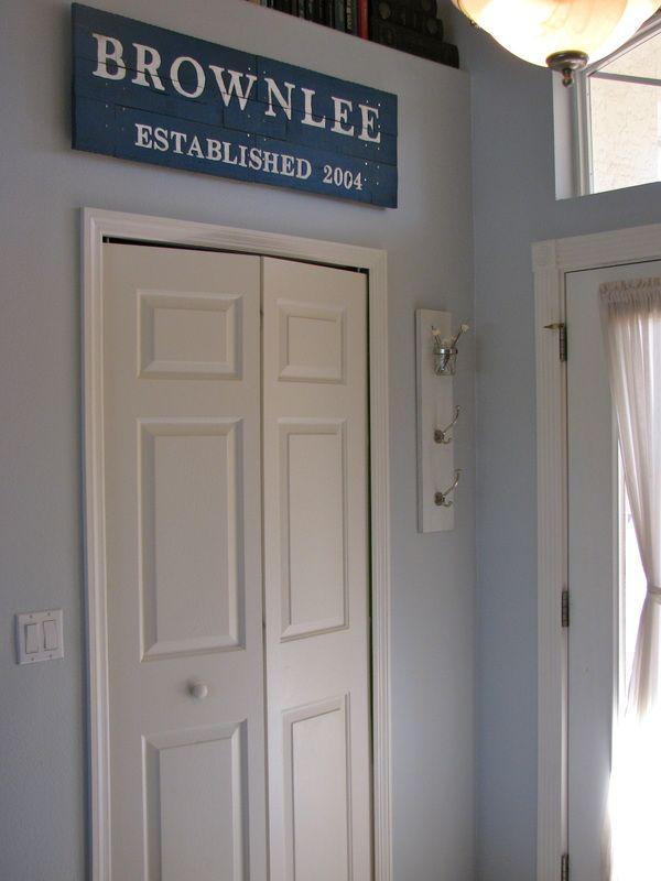 vertical hooks: Easy Crafty, Doors, Kids Bedrooms, Bedrooms Org, Diy Plans, Established 2001, Vertical Hooks, 30 Years, Crafty Ideas