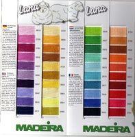 Карта цветов MADEIRA 126 2009 Lana Cotona