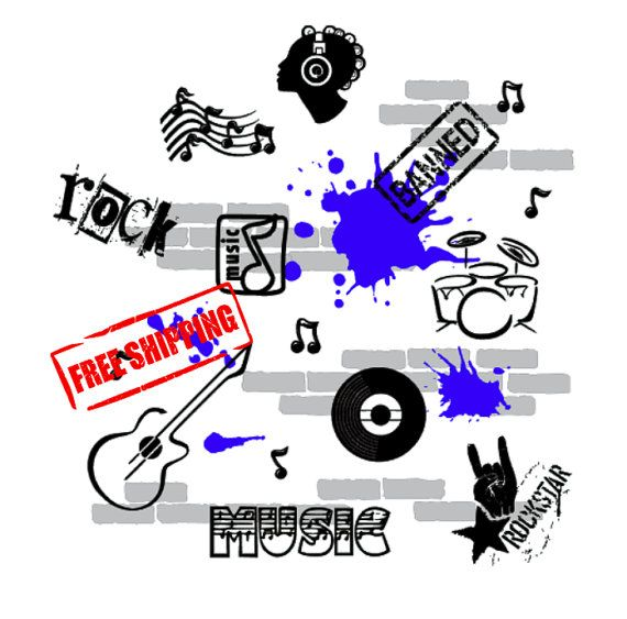 Urban Music: FREE SHIPPING To USA Mix with by HorseFeathersDecals