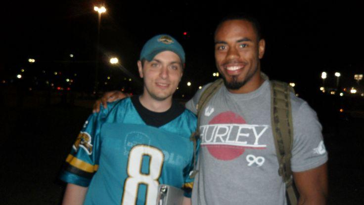 Jacksonville Jaguars RB #23 Rashad Jennings (November 2012 at Everbank Field in Jacksonville, FL)