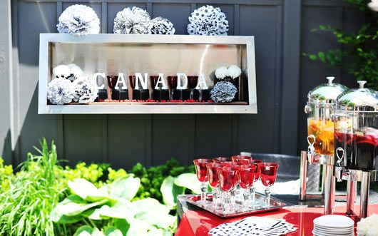 Party Idea of the Month: Stylish Canada Day Party - Style Sheet - HGTV Canada