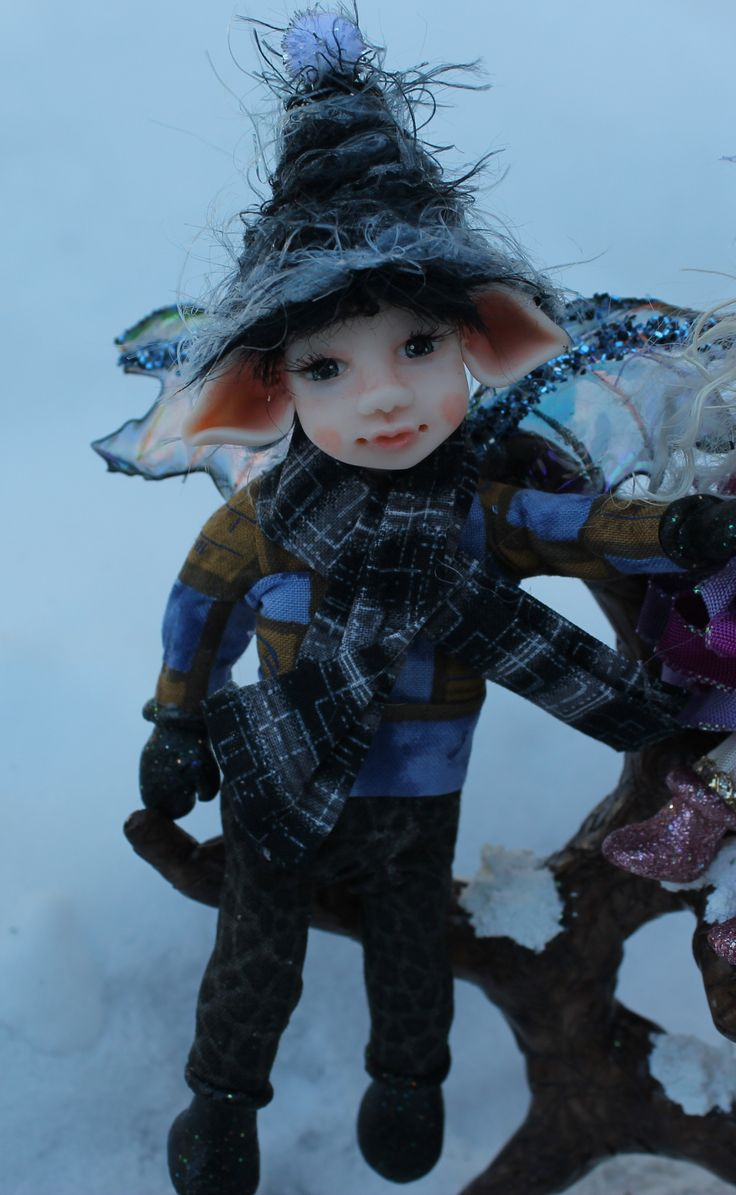 33 best ooak polymer clay fairies by j pollard images on