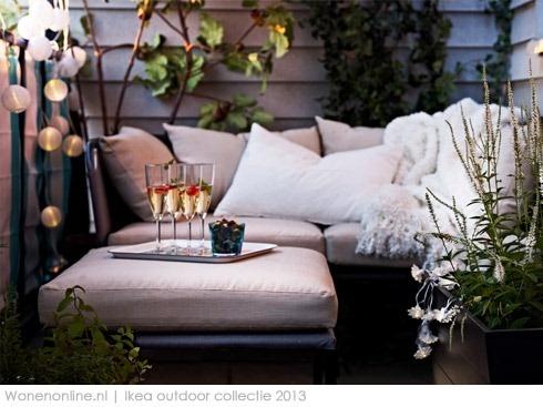 IKEA lanceert nieuwe outdoor collectie Een nieuw voorjaar betekent een nieuwe outdoor collectie van IKEA. Dit jaar biedt IKEA een mix van klassiekers en tropische kleuren om van iedere tuin of balkon een verlengstuk te maken van je huis.