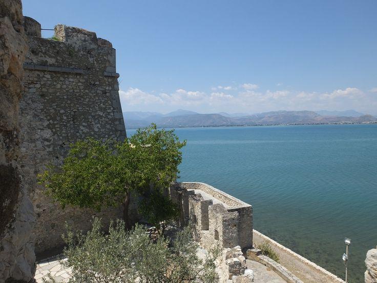 Naflpio, Greece, view from Bourtzi