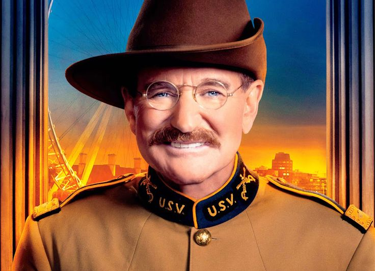 """Robin Williams as Theodore Roosevelt in """"Night at the ..."""