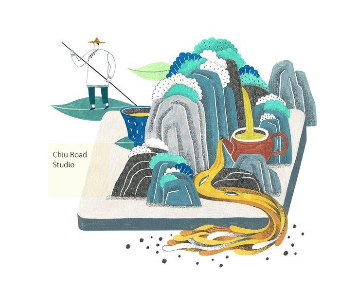 插畫|手路 Chiu Road 企劃|幸福人的禮物 【大禹嶺】 【奇萊山】 【梨山】 [[MORE]]【武夷山】 【白狗大山】