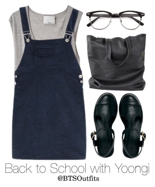 """""""Back to School with Yoongi"""" by btsoutfits ❤ liked on Polyvore featuring 3.1 Phillip Lim and ASOS"""