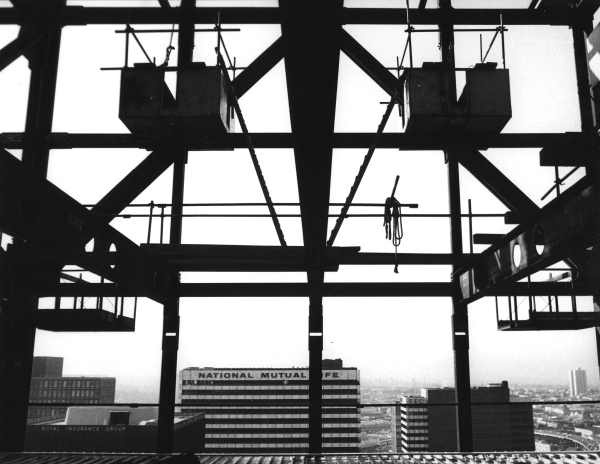 BHP Building with Yuncken  Freeman in conjunction with Skidmore Owings Merrill. Melbourne, Australia 1972. Photography by Wolfgang Sievers.
