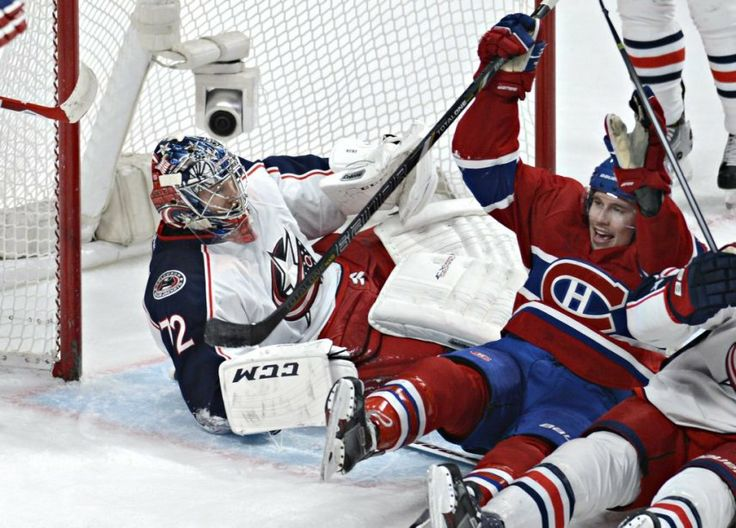 Brendan Gallagher goal (Photo Bernard Brault, La Presse)