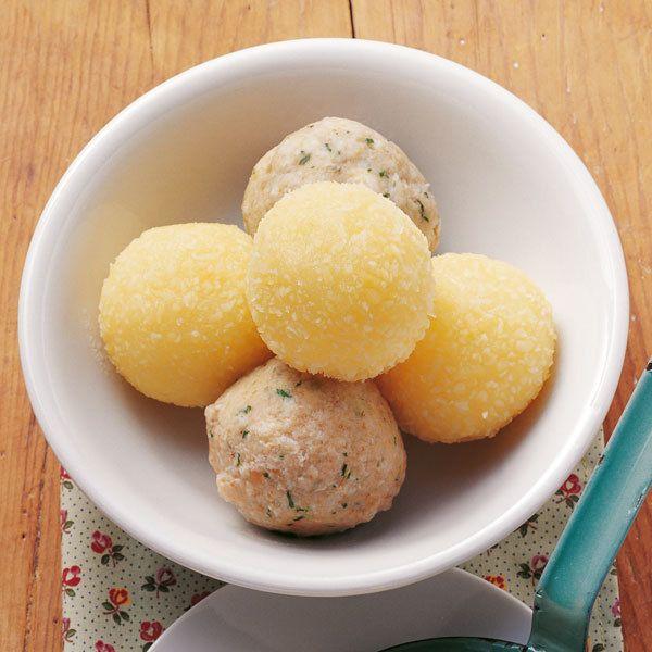 Kartoffelklöße »halb und halb«