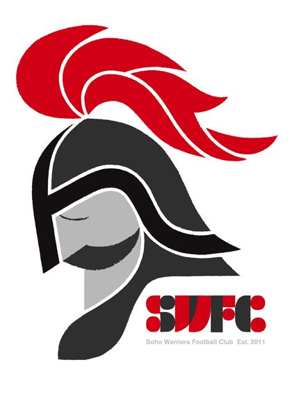 Adrian Johnson Studio Ltd. > Work Soho Warriors F.C http://www.adrianjohnson.org.uk/work/project/150/page:1