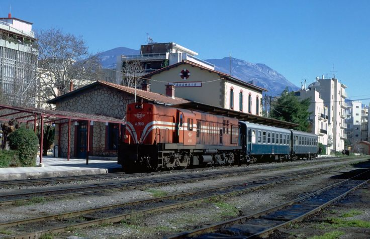 OSE Hellenic Railways_Kalamata. Greece. 1995