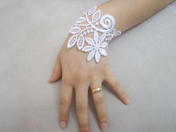 Summer Cuff Gifts Wedding Jewelry Bridal Bracelet by BloomedFlower