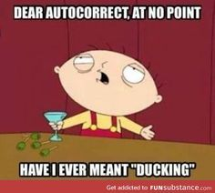 stewie griffin quote ducking - Google Search