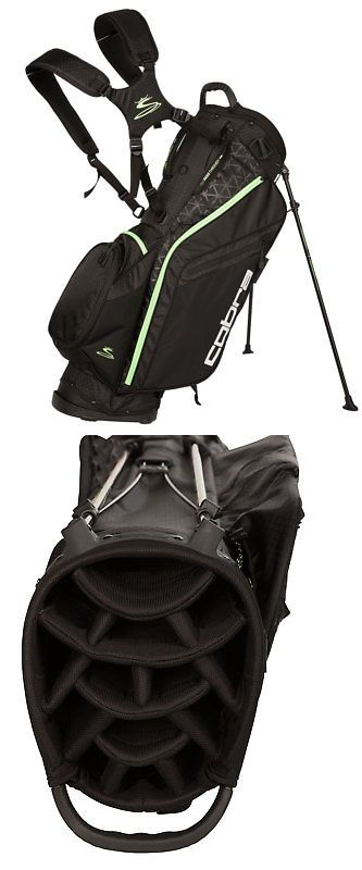 Golf Club Bags 30109: New Cobra Golf- 2017 Tec F7 Stand Bag Black Green Gecko 909226 -> BUY IT NOW ONLY: $149.99 on eBay!