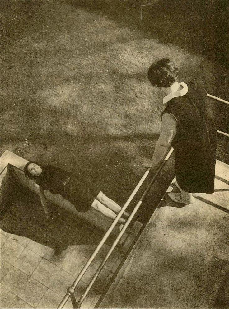 LASZLO MOHOLY-NAGY / Perspective / c. 1929 / Original vintage photogravure