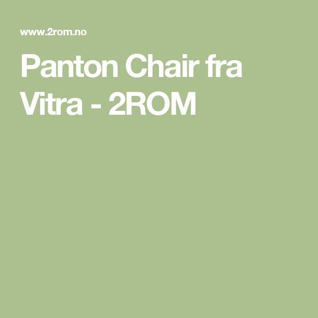 Panton Chair fra Vitra - 2ROM