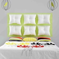 Jak zrobić ZAGŁÓWEK do łóżka z poduszek: zrób to sam. Pomysł na zagłówek do sypialni