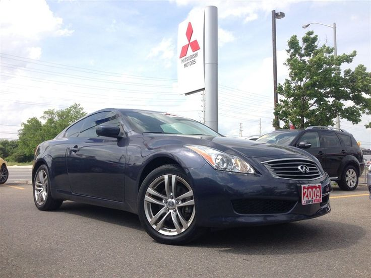 Come see #Brampton #Mitsubishi 's 2009 #Infiniti #G37 #Coupe ! Fully loaded with all of your #luxury features of #leather, #sunroof, #alloy #wheels, power seats and #AWD! Come in and drive this #beauty today!