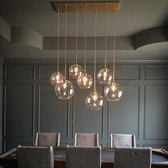 Dining Room Chandelier, Modern Dining Room Ceiling Light Fixtures