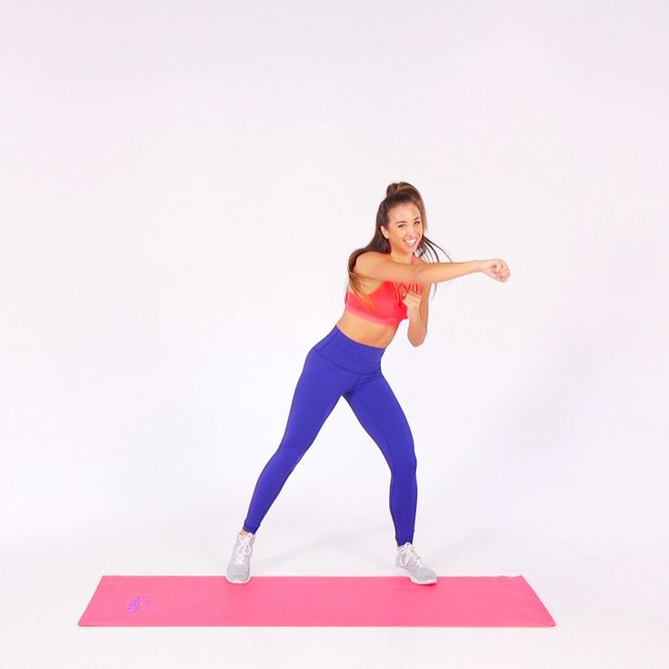This 12-minute dance cardio workout will get you to burn calories and build strength in style. In this video, Katie Austin, daughter of famous fitness instructor Denise Austin, fuses traditional exercises like squats or bicep curls with easy-to-follow dance steps. | Health.com