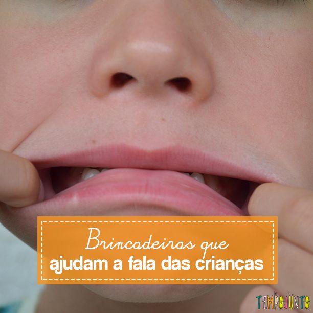 Desenvolver a fala das crianças ajuda na comunicação oral e na autonomia delas. E há brincadeiras que a gente nem percebe, mas ajudam neste processo