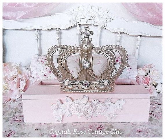 French Champagne Fleur de Lis Bed Crown by sweetlilboutique
