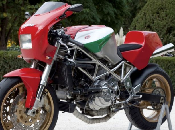 Ducati 900 Sport combined with a Ducati ST 4