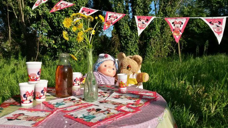 Festa a tema Minnie Cafè. Grazie a Giulia della foto!